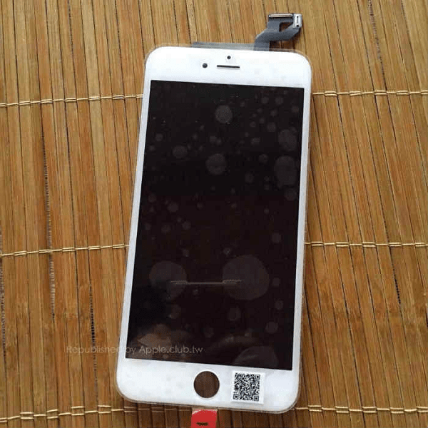 Apple iPhone 6S Plus Leak Front Panel