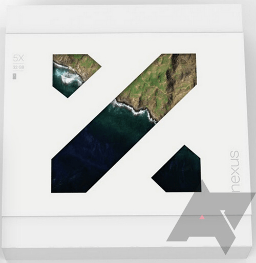 Google Nexus 5X Retail Box
