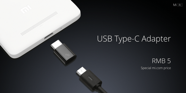 Xiaomi Mi 4c USB Type-C Adapter