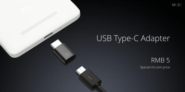 Xiaomi Mi 4c USB Type-C Adapter