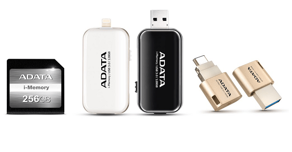 Adata Apple Products Line