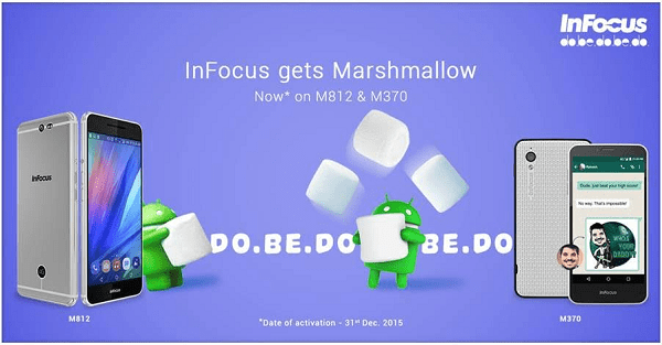 InFocus M812 And M370 Marshmallow Update