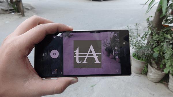Sony Xperia Z5 Camera UI