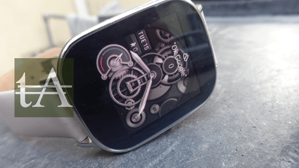 Asus ZenWatch 2 Side View