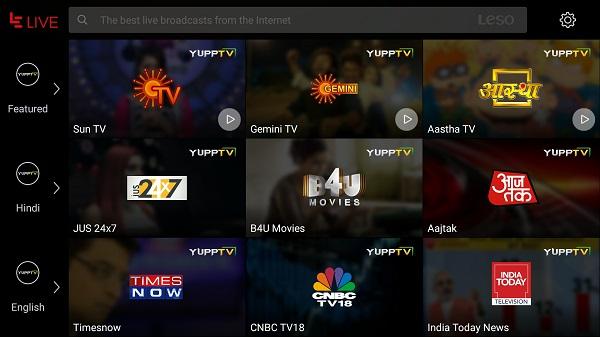 LeEco Le 1s Eco YuppTV