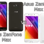 Asus ZenFone Max VS Asus ZenFone Max