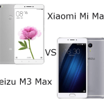 Xiaomi Mi Max VS Meizu M3 Max