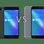 Asus Zenfone 3s Max vs Asus Zenfone 3 Max