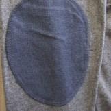 coudiere tissu bleu marine cardigan JAQK