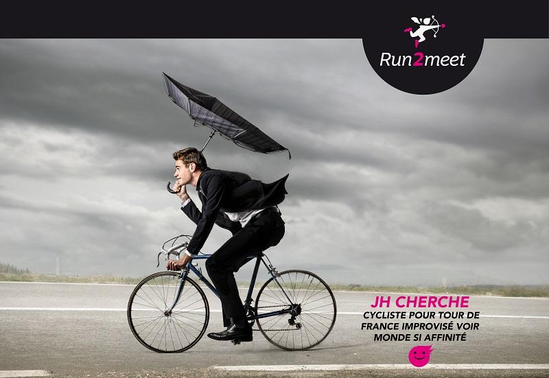 cycliste run2meet