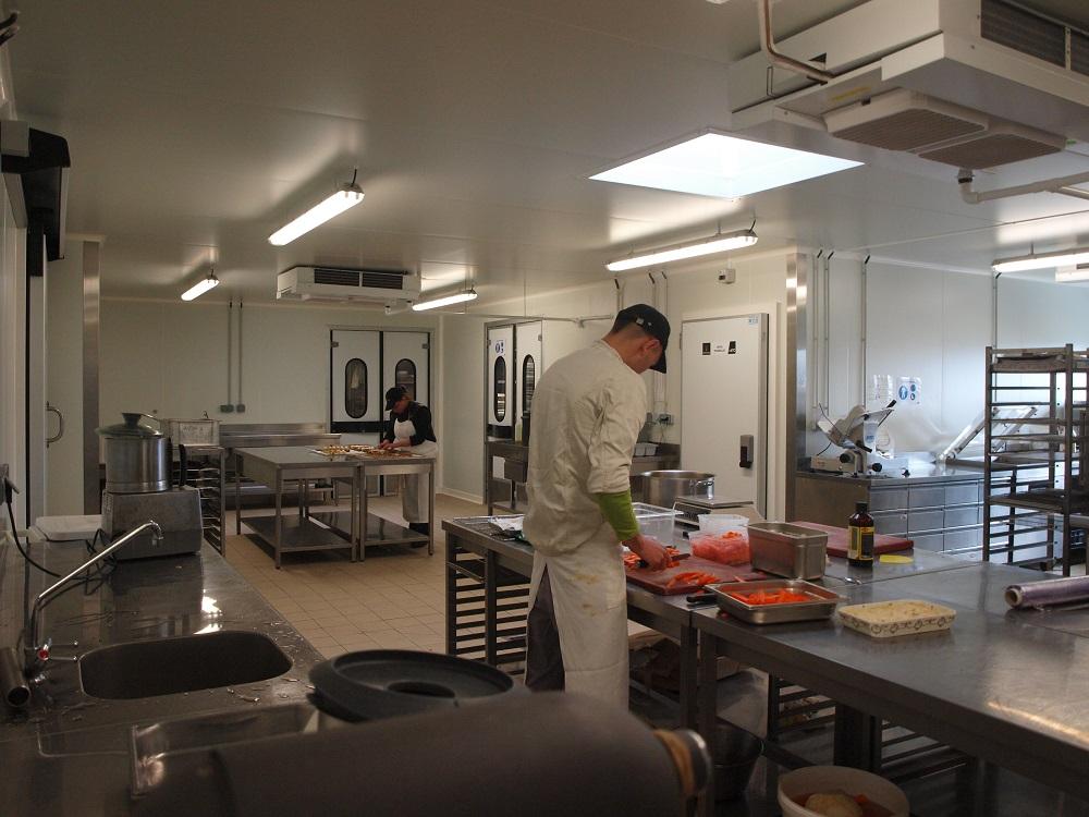 Laboratoire culinaire Brossard Traiteur