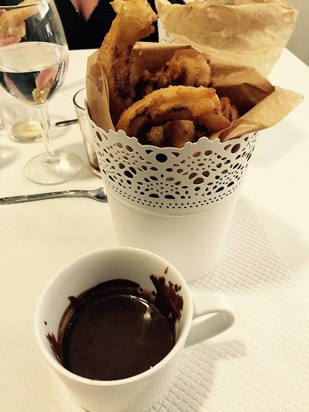 churros con chocolate huet et pardo