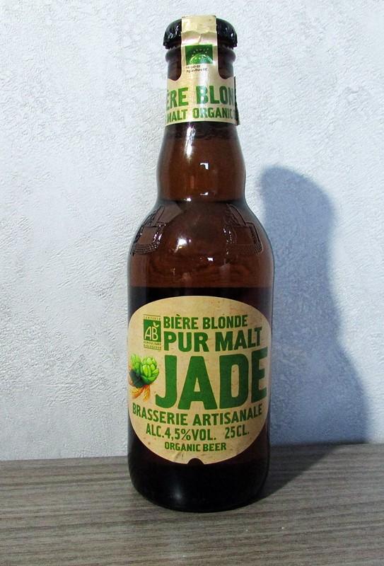 biere blonde bio jade
