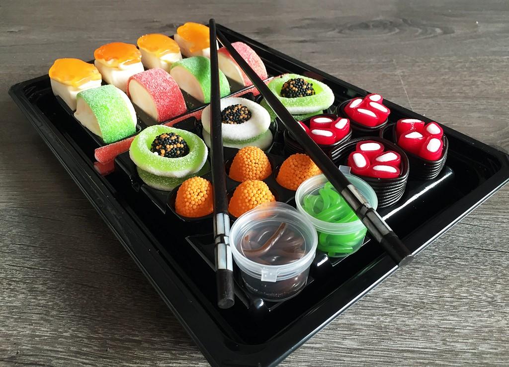 degustabox candy sushi look o look