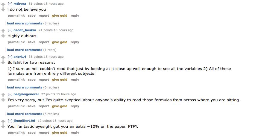 """""""bullshit"""""""