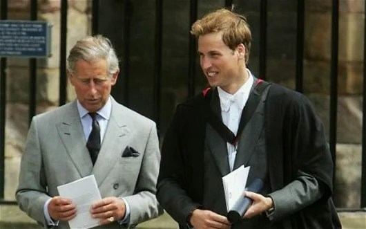 The Prince Graduated from St Andrews