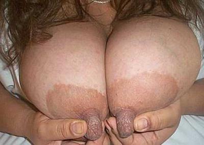 goose pimple nipple
