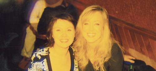 Zara and Anne in Portland, circa 2007