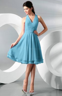 Small Of Light Blue Bridesmaid Dresses