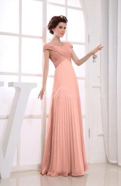 Brilliant Size Bridesmaid Dresses Coral Bridesmaid Dresses Sleeves Coral Bridesmaid Dresses Cheap Peach Vintage Empire Short Sleeve Zipper Chiffon Length Bridesmaiddresses