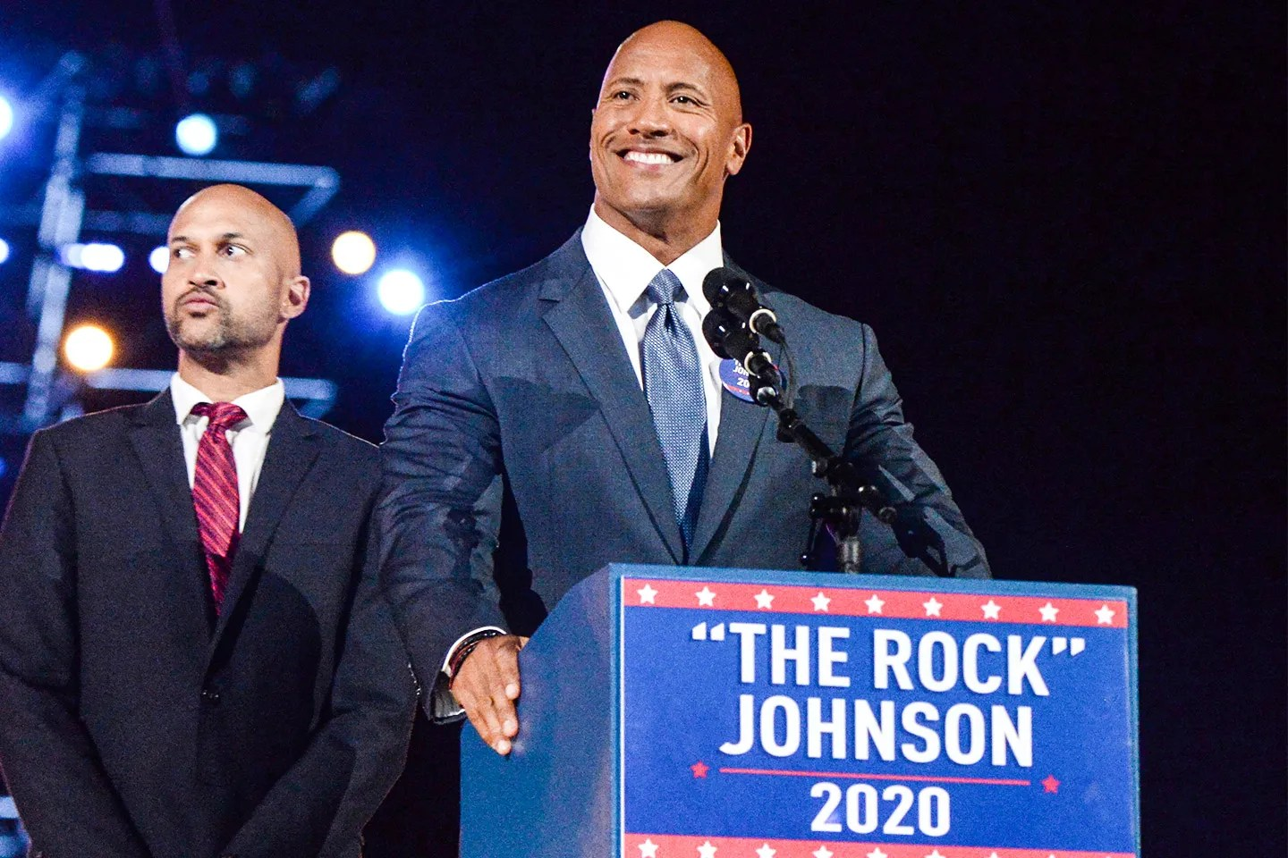 The Rock is Running For President The Rock is Running For President and Satire is Dead