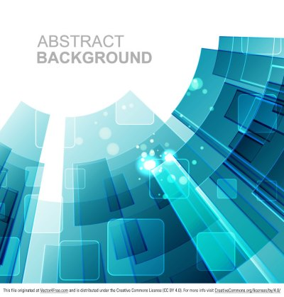 Free Abstract Tech Background Vector