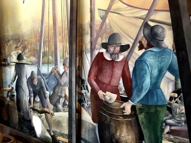 Pintura - Museu Vasa Stockholm