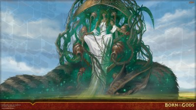 Wallpaper of the Week: Karametra, God of Harvests | MAGIC: THE GATHERING