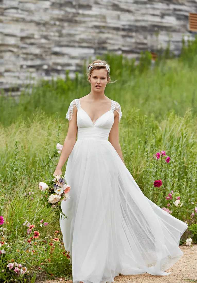 a line wedding dresses aline wedding dress Willowby by Watters