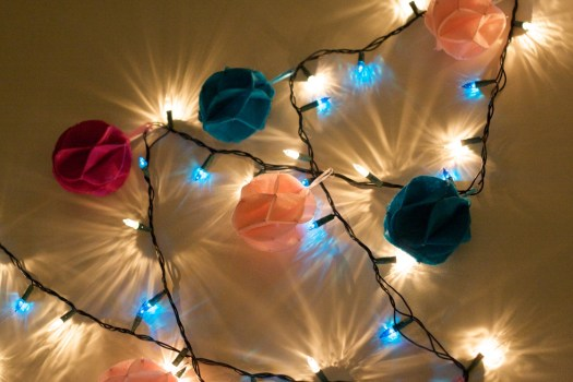 Deck the Halls With Hand Sewn Balls...