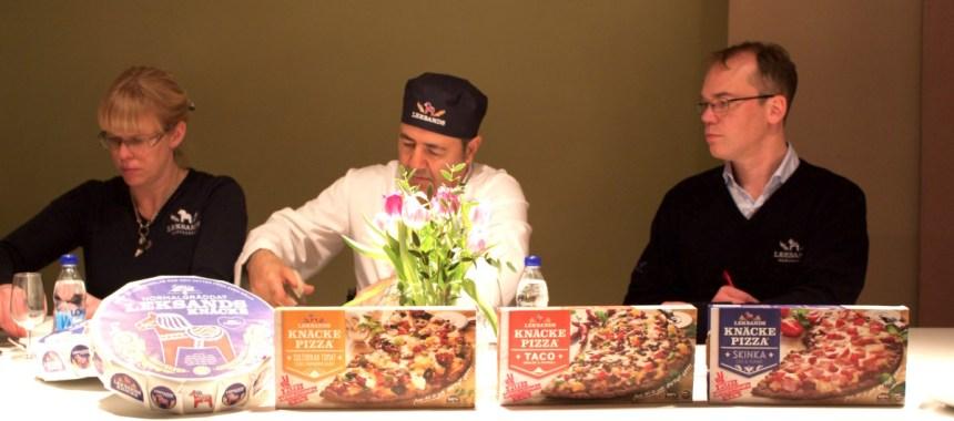 Leksands grymt goda knäckepizza
