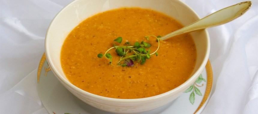Turkisk linssoppa- Vegansk