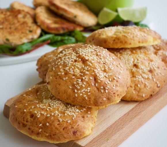 Glutenfri hamburgerbröd