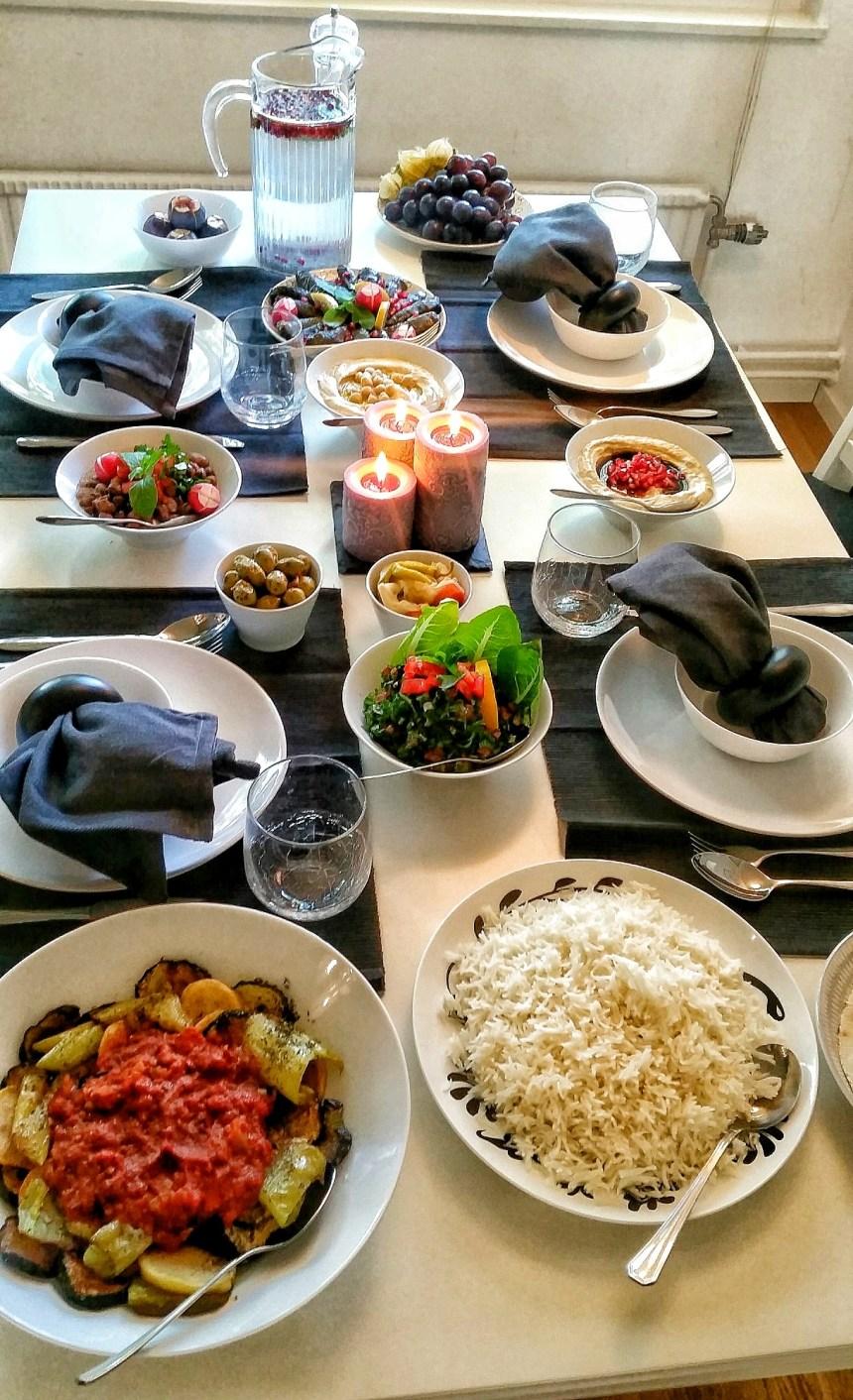 Persiskt ris.
