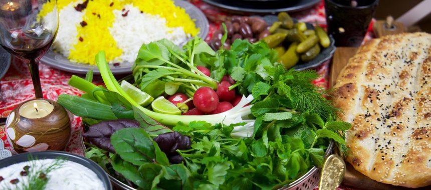 Persisk salladsfat
