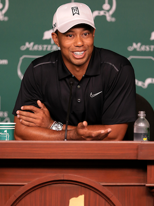 Tiger Woods plans to take questions from fans instead of the media