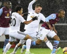 Video: Swansea City vs Aston Villa