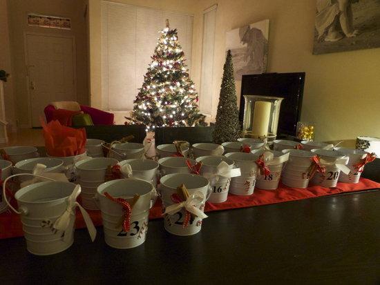 24 buckets ready to go