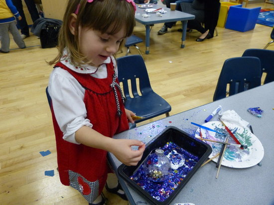 making Xmas ornaments