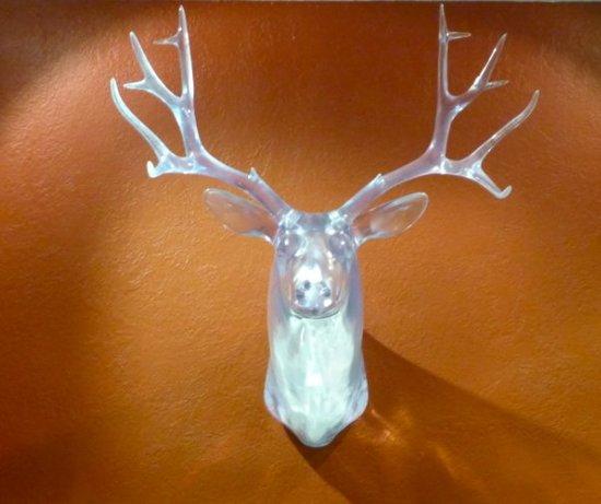 random- deer head
