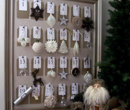 Ornament calendar