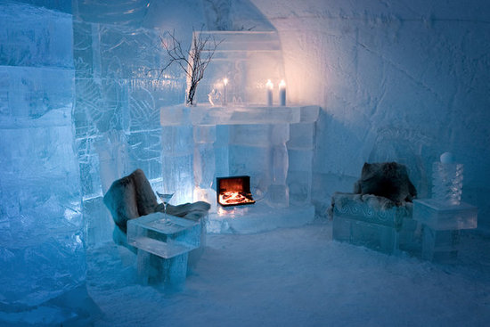 Sorrisniva Ice Hotel in Norway