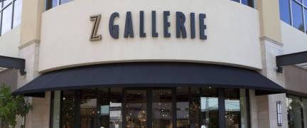 SCOTTSDALE, ARIZONA, JUNE 10, 2017: Z GALLERIE HOME GOODS STORE
