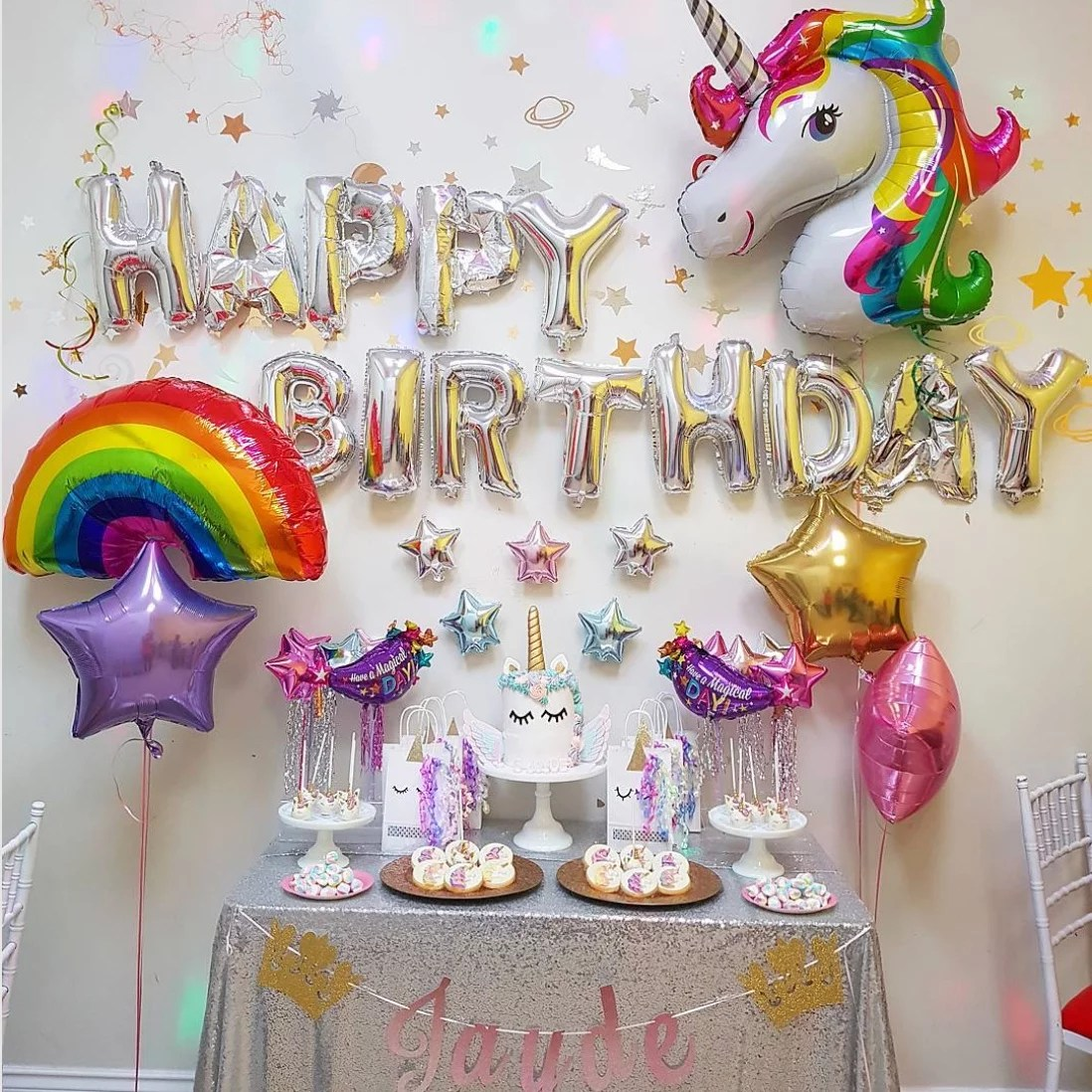 Lovely Rainbow Birthday Party Ideas Popsugar Moms Birthday Ideas No Party Birthday Ideas Summer ideas First Birthday Ideas