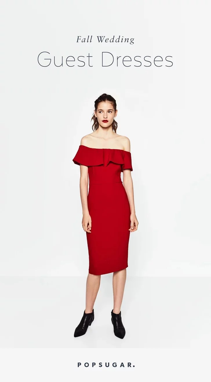 Best Wedding Guest Dresses Fall Winter Weddings fall wedding guest dresses Your Wedding Guest Dilemmas Solved in 27 Dresses