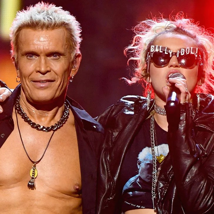 Miley Cyrus and Billy Idol Performing  Rebel Yell  2016   POPSUGAR     Miley Cyrus and Billy Idol Performing  Rebel Yell  2016   POPSUGAR  Entertainment