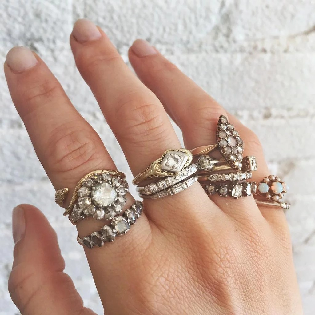 Fullsize Of Antique Wedding Rings