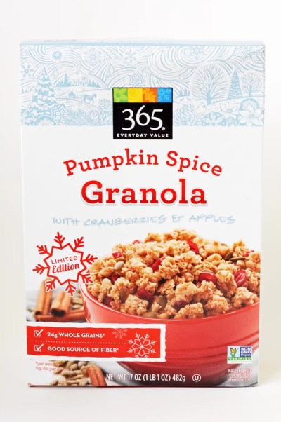 365 whole foods pumpkin spice granola