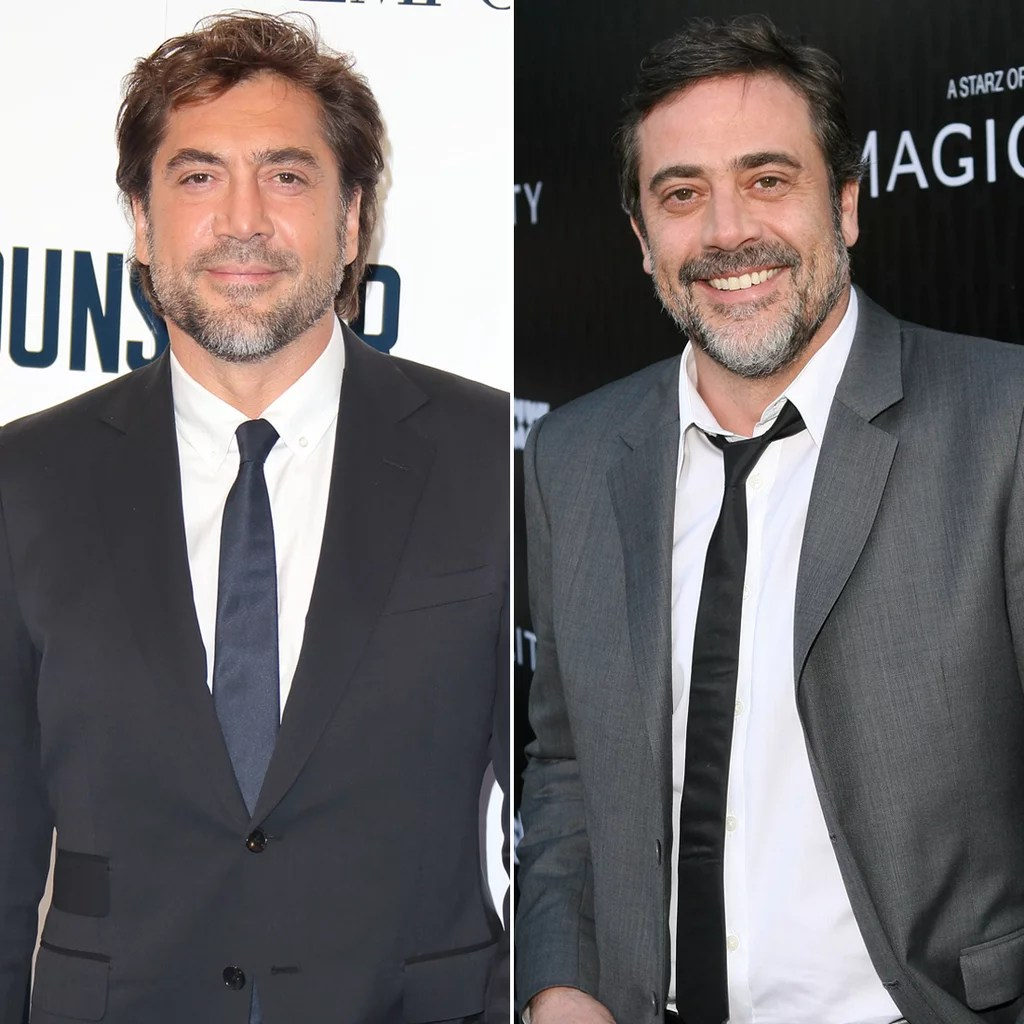Javier Bardem and Jeffrey Dean Morgan   Celebrity Lookalikes     Javier Bardem and Jeffrey Dean Morgan