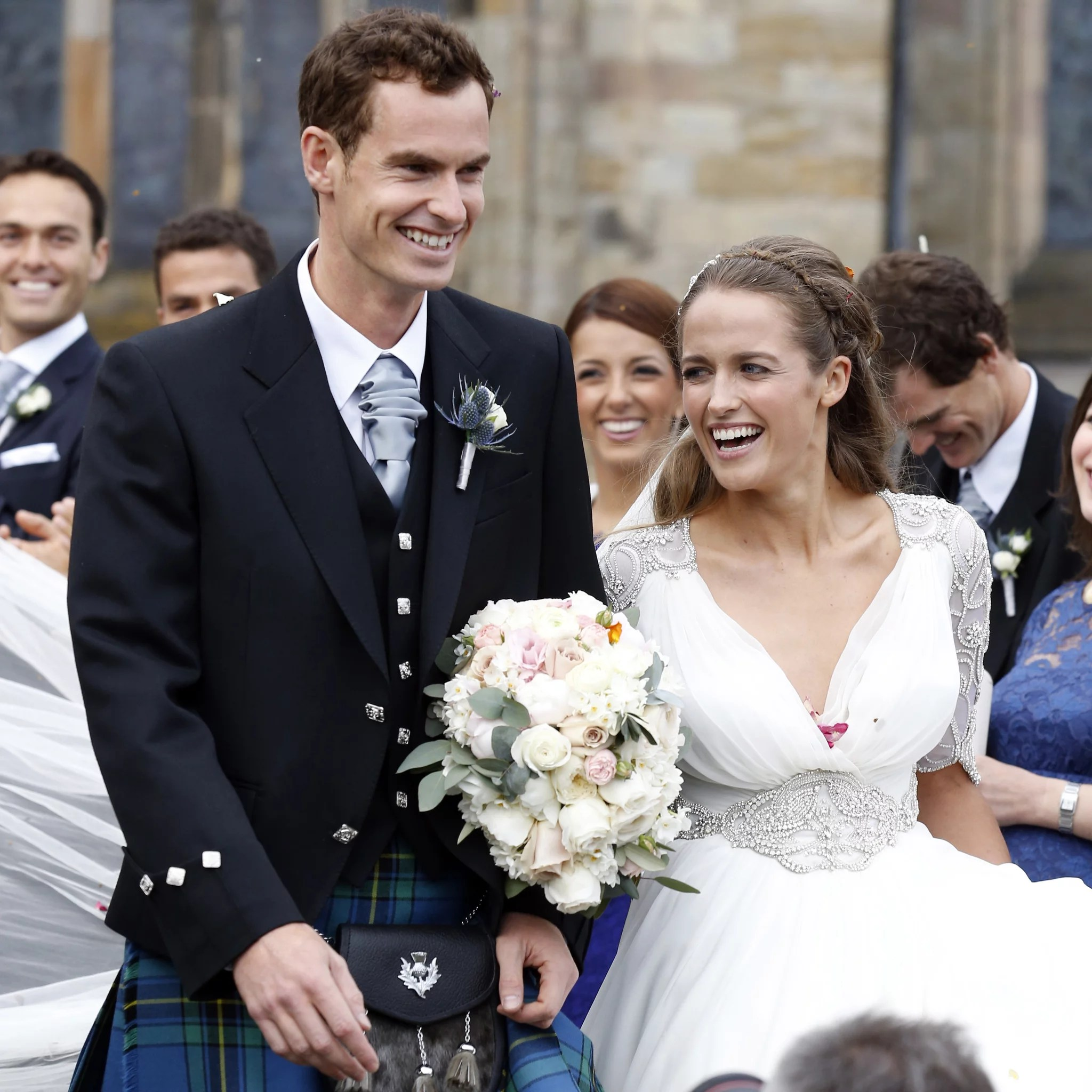 Andy Murray Kim Sears Wedding Pictures sears wedding dresses